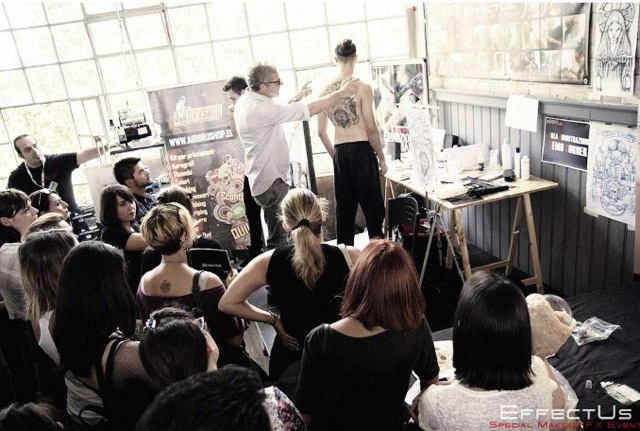 """LIVE DEMO at """"EFFECTUS ROME 2015 - Special Make-up FX Event"""
