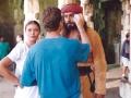 on set of Sandokan (1996)